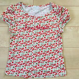 ジェーンマープル(JaneMarple)のjanemarple いちご 苺 Tシャツ(Tシャツ(半袖/袖なし))