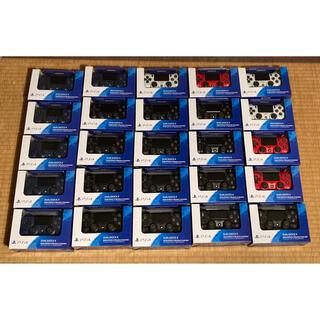 ソニー(SONY)の【新品未開封】純正PS4コントローラー デュアルショック4 25台(その他)