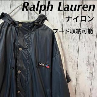 ラルフローレン(Ralph Lauren)のRalph Lauren sport ラルフローレン ナイロンコート フード収納(ナイロンジャケット)