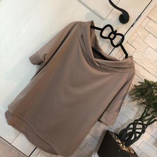 ヴィス(ViS)の♪VIS♪お洒落デザイン モカ(Tシャツ(半袖/袖なし))
