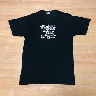 ミルクボーイ(MILKBOY)の希少 90s MILK BOY ミルクボーイ Tシャツ M USA製 ボディー(シャツ)