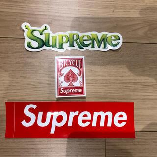 シュプリーム(Supreme)のシュプリーム  supreme トランプ ノベルティ ステッカー2枚付き!(ノベルティグッズ)