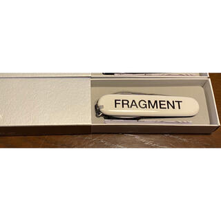 FRAGMENT - fragment × victorinox マルチツール 白