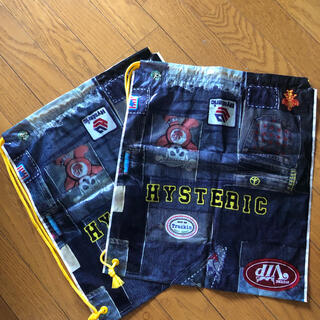 ヒステリックミニ(HYSTERIC MINI)のヒステリックミニ ショップ袋‼️ 2枚セット❗️(ショップ袋)