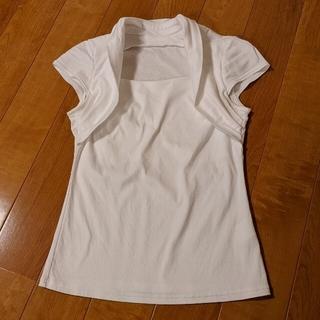 ストロベリーフィールズ(STRAWBERRY-FIELDS)のstrawberry FIELDS Tシャツ カットソー S 白 ホワイト(カットソー(半袖/袖なし))
