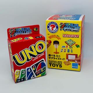 ウーノ(UNO)のWORLD'S SMALLEST ミニサプライズトイ3 ♡ UNO(トランプ/UNO)