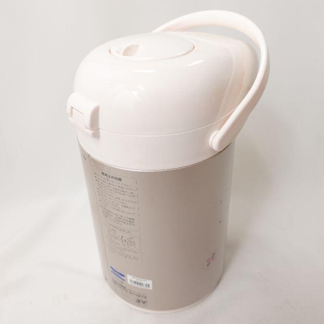 象印(ゾウジルシ)の象印 グラス魔法瓶 ピンク スマホ/家電/カメラの生活家電(電気ポット)の商品写真