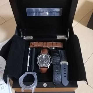 オフィチーネパネライ(OFFICINE PANERAI)のパネライ ルミノール マリーナ パワーリザーブ PAM00090(腕時計(アナログ))