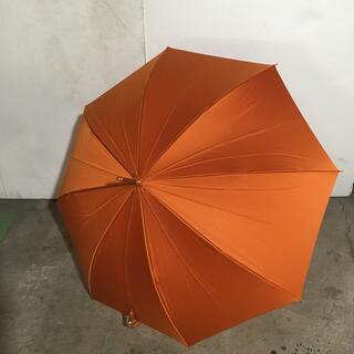 セリーヌ(celine)のセリーヌ 長傘 オレンジ×ダークブラウン(傘)