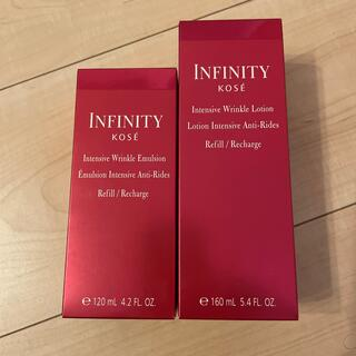 Infinity - KOSE     Infinity   インテンシブ リンクル化粧水、乳液