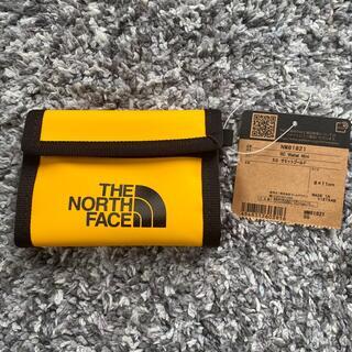 ザノースフェイス(THE NORTH FACE)の【THE NORTH FACE】新品未使用!ミニ財布 サミットゴールド(コインケース/小銭入れ)
