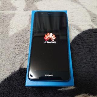 ファーウェイ(HUAWEI)のHUAWEI P10 lite ブルー スマートフォン 美品(スマートフォン本体)