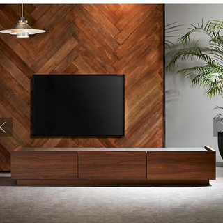 ACTUS - LOWYAロウヤ テレビボード ブラウン シルバー