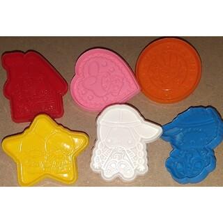 サンリオ(サンリオ)のサンリオキャラクター クッキー型抜き6個(調理道具/製菓道具)