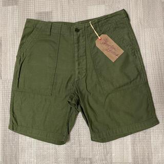 TENDERLOIN - 人気品! TENDERLOIN アーミー ショーツ パンツ オリーブ 緑 M