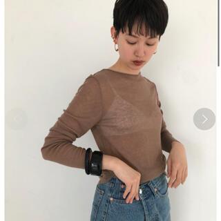 トゥデイフル(TODAYFUL)の【うー様専用】TODAYFUL  シアーロングTシャツ(Tシャツ(長袖/七分))