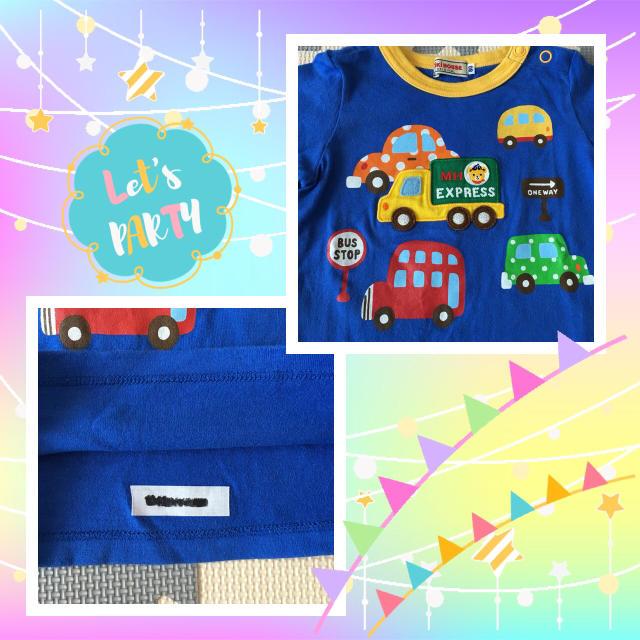 mikihouse(ミキハウス)のミキハウス♡80サイズ♡カットソー キッズ/ベビー/マタニティのベビー服(~85cm)(シャツ/カットソー)の商品写真