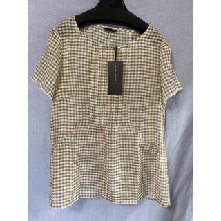 イーストボーイ(EASTBOY)のチェックシャツ グリーンノート 13号  ❁︎4(シャツ/ブラウス(半袖/袖なし))