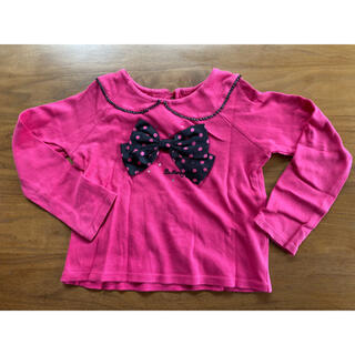 バタフライ(BUTTERFLY)の長袖トップス 120 バタフライ(Tシャツ/カットソー)