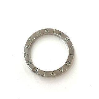 ブルガリ(BVLGARI)のBVLGARI ブルガリ ブルガリブルガリ キーリング 指輪 シルバー    (キーホルダー)