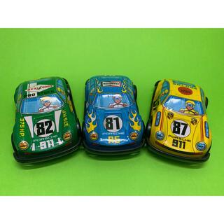 ポルシェ(Porsche)の車 ブリキ Porsche 3台(ミニカー)
