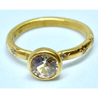 バーニーズニューヨーク(BARNEYS NEW YORK)のマリーエレーヌドゥタイヤック ダイヤモンド スター・スタッド プリンセスリング(リング(指輪))