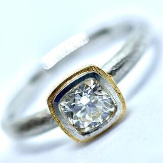 バーニーズニューヨーク(BARNEYS NEW YORK)のGICLAT ギクラ MOMENT ダイヤ 0.457 エンゲージメント リング(リング(指輪))