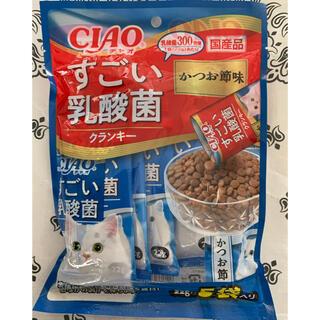 イナバペットフード(いなばペットフード)の♡CIAOすごい乳酸菌クランキー猫のごはん かつお節味♡(ペットフード)