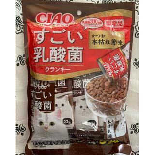 イナバペットフード(いなばペットフード)の✴️新発売✴️♡CIAOすごい乳酸菌クランキー猫のごはんかつお本枯れ節味♡(ペットフード)