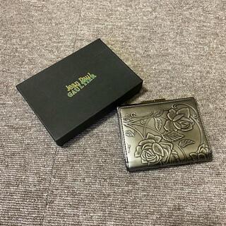 ジャンポールゴルチエ(Jean-Paul GAULTIER)の希少 Jean paul gaultier コンパクト 財布(折り財布)