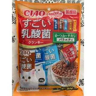 イナバペットフード(いなばペットフード)の✴️新発売✴️♡CIAOすごい乳酸菌クランキー猫のごはん バラエティ5種類♡(ペットフード)