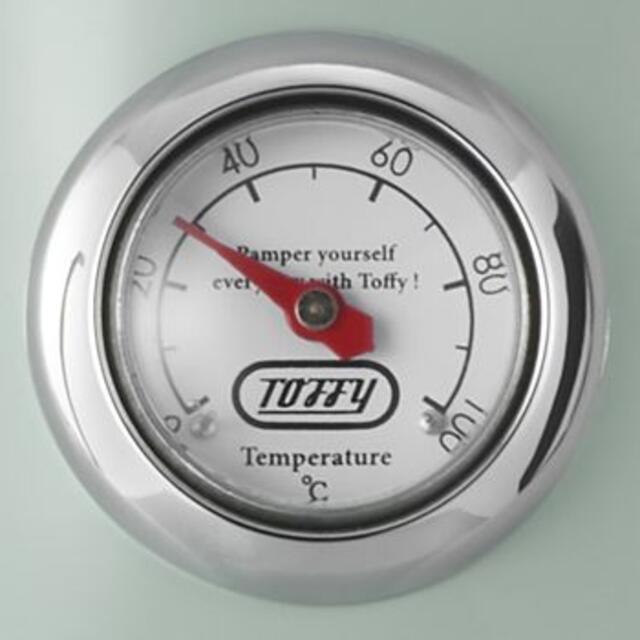 【専用】Toffy 温度計付き電気ケトル ポット コーヒードリップ グリーン スマホ/家電/カメラの調理家電(その他)の商品写真