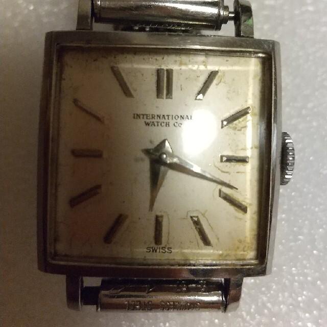 IWC(インターナショナルウォッチカンパニー)のインターナショナルウォッチカンパニー 手巻時計 メンズの時計(腕時計(アナログ))の商品写真