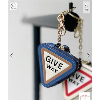 アパルトモンドゥーズィエムクラス(L'Appartement DEUXIEME CLASSE)のGOOD GRIEF! medicine Key ring◆ブルーA 新品未使用(キーホルダー)