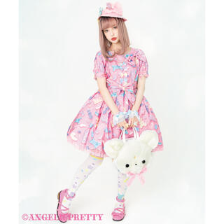 アンジェリックプリティー(Angelic Pretty)のAngelic Pretty Jelly Candy Toysワンピース ピンク(ひざ丈ワンピース)