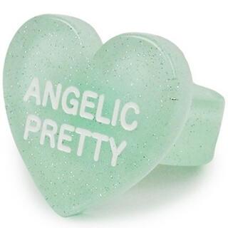 アンジェリックプリティー(Angelic Pretty)のHappy Heartリング ミント(リング(指輪))