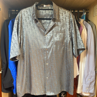 ディオール(Dior)のディオール オブリーク ハワイアン Tシャツ(Tシャツ/カットソー(半袖/袖なし))