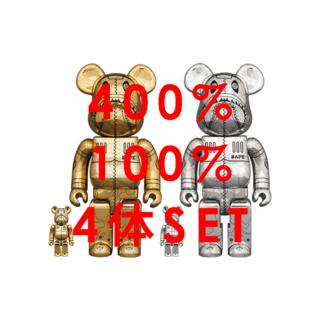 メディコムトイ(MEDICOM TOY)のBE@RBRICK SORAYAMA BAPE 100% 400% セット(その他)
