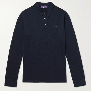 ラルフローレン(Ralph Lauren)の最高峰 ralph lauren purple label ウール ポロシャツ(ポロシャツ)