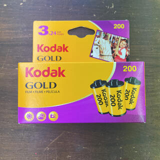 kodak GOLD 200 24枚撮り 3本パック(フィルムカメラ)