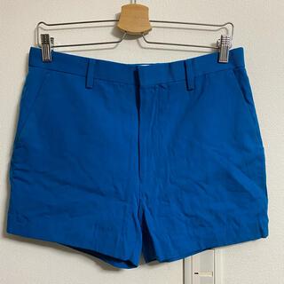 ワコマリア(WACKO MARIA)のwackomariaワコマリア slacks shorts   ブルー 水色(ショートパンツ)