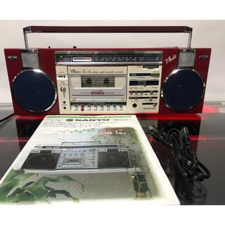SANYO - 美品!!SANYO FM/AMステレオ ラジカセ MR-V8 MarkII
