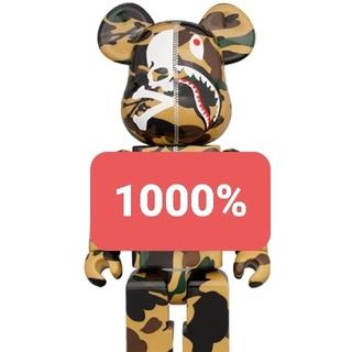 メディコムトイ(MEDICOM TOY)のMASTERMIND VS BAPE®︎ BE@RBRICK 1000% (YE(その他)