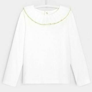 ジャカディ(Jacadi)の●【Used】 Jacadi ジャカディ 襟付き長袖Tシャツ(Tシャツ/カットソー)