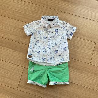 Jacadi - SeRGeNT MaJoR シャツ&パンツ セット 68cm