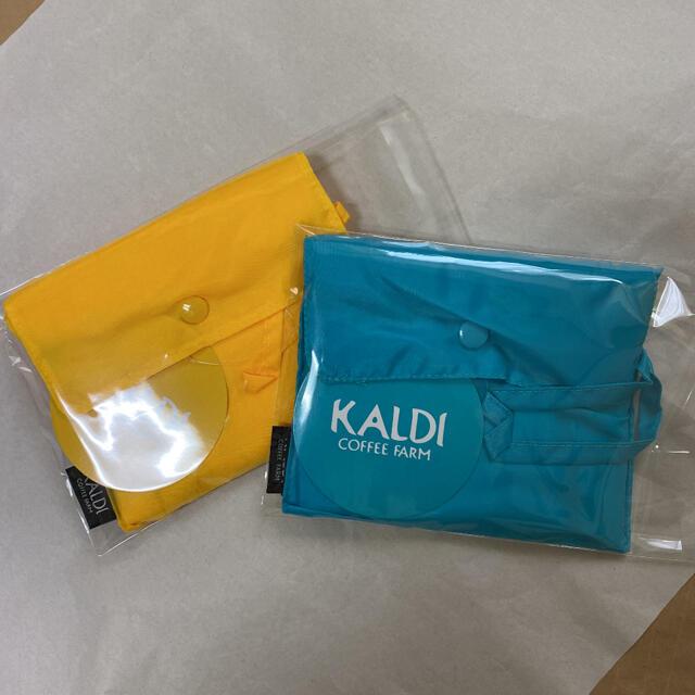 KALDI(カルディ)のエコバッグ カルディ2個 レディースのバッグ(エコバッグ)の商品写真