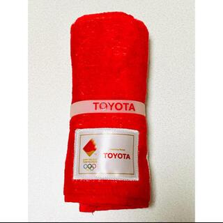 トヨタ(トヨタ)の【TOYOTA】オリンピックタオル(タオル/バス用品)