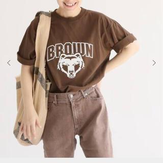 フレームワーク(FRAMeWORK)のフレームワーク ドゥージェムクラス カレッジTシャツ(Tシャツ(半袖/袖なし))