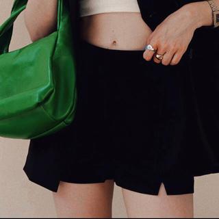 ACLENT High waist compact short pants(チェスターコート)