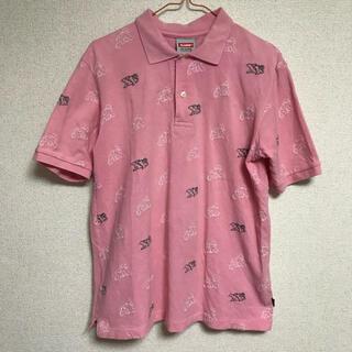 エクストララージ(XLARGE)のポロシャツ メンズ XLARGE 総ロゴ(ポロシャツ)
